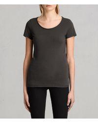 AllSaints - Vetten T-shirt - Lyst