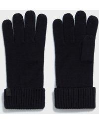 AllSaints - Merino Gloves - Lyst