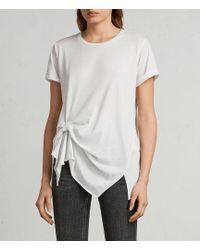 AllSaints - Riviera Devo T-shirt - Lyst