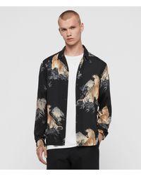 AllSaints Kayan Long Sleeve Shirt - Black