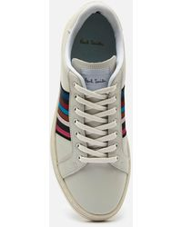 Paul Smith Lapin Leather Cupsole Sneakers - White