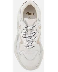 Ash Addict Chunky Running Style Sneakers - White
