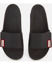 HUNTER - Original Adjustable Slide Sandals - Lyst