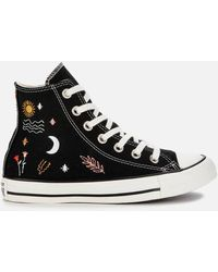 Converse Chuck Taylor All Star It's Ok To Wander Hi-top Trainers - Black