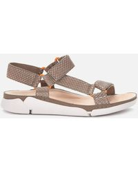 Clarks Tri Sporty Sandals - Brown