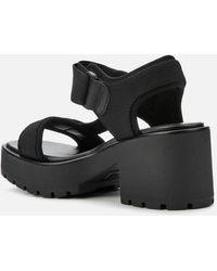 Vagabond Dioon Heeled Sandals - Black