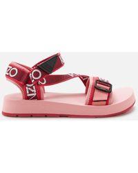 KENZO Papaya Sandals - Pink