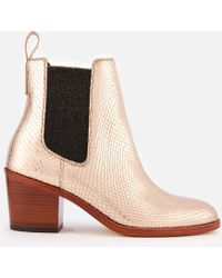 Paul Smith - Women's Shelby Heeled Ankle Boots - Lyst