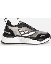 Emporio Armani Ea7 Running Style Trainers - Black