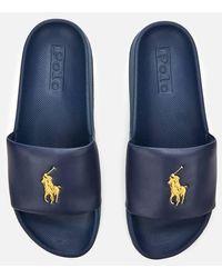 Polo Ralph Lauren Cayson Logo Sandals - Blue