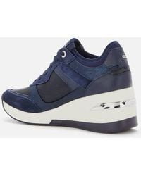 Dune Eilas Running Style Trainers - Blue