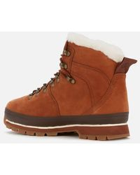 Timberland Euro Hiker Furlined Boots - Brown