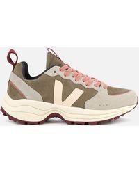 Veja Venturi Suede Running Style Trainers - Multicolour