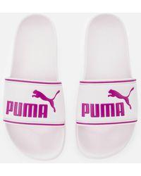 PUMA Leadcat Slide Sandals - Pink