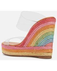 Kurt Geiger Ariana Wedged Sandals - Multicolour