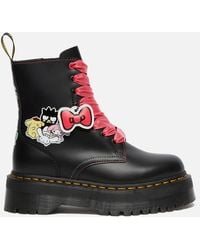 Dr. Martens X Hello Kitty Jadon Leather Boots - Black