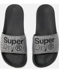Superdry - Lineman Pool Slide Sandals - Lyst