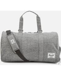 Herschel Supply Co. Canvas 'novel' Duffle Bag - Gray