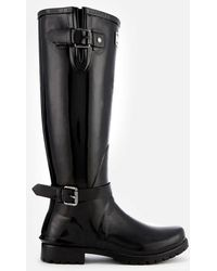 Barbour - Cleveland Tall Gloss Wellies - Lyst
