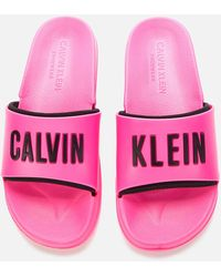 Calvin Klein Intense Power Sliders - Pink