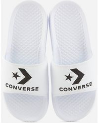 Converse All Star Slide Sandals - White