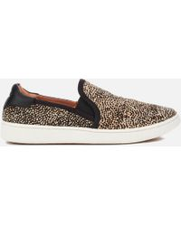UGG - Women's Cas Exotic Calf Hair Slip-on Trainers - Lyst