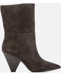 Ash Doll Slouch Boot - Grey