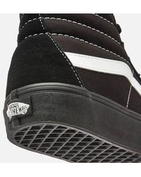 Vans Suede/canvas Sk8 Hi-top Sneakers - Black