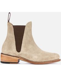 Grenson Nora Suede Chelsea Boots