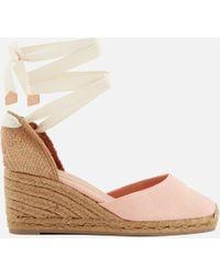 Castaner - Carina Wedged Sandals - Lyst