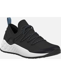 Timberland Solar Wave Low Knit Trainers - Black