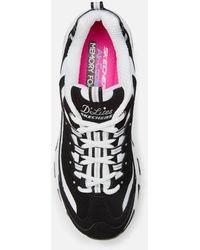 Skechers D'lites Biggest Fan Sneakers - Black