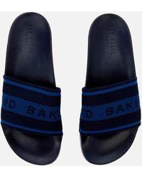 Ted Baker Danoup Slide Sandals - Blue