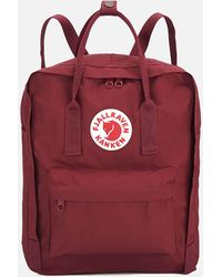Fjallraven Kanken Backpack - Red