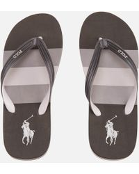 Polo Ralph Lauren   Men's Whittlebury Ii Flip Flops   Lyst