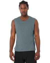Alo Yoga The Triumph Muscle Tank Top - Grey