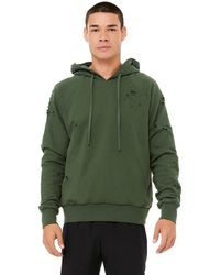 Alo Yoga Ripped Hoodie - Green
