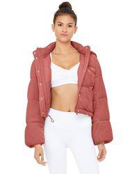 Alo Yoga Velvet Puffer Jacket - Multicolor