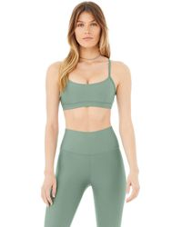 Alo Yoga Airlift Intrigue Bra - Green