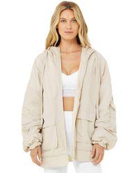 Alo Yoga Reversible Legion Jacket - White