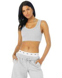 Alo Yoga Alo Yoga Wellness Bra - Gray