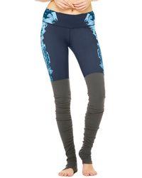 Alo Yoga Goddess Legging - Blue