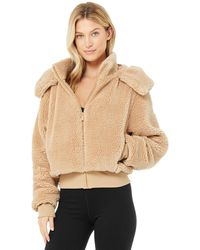Alo Yoga Alo Yoga Foxy Sherpa Jacket - Multicolour
