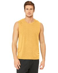 Alo Yoga The Triumph Muscle Tank Top - Yellow