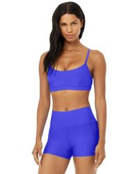 Alo Yoga Airlift Intrigue Bra - Blue