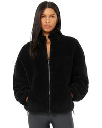 Alo Yoga Flurry Sherpa Jacket - Black