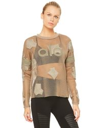 Alo Yoga Yoga Jersey Long Sleeve Top - Multicolour