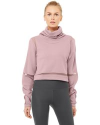 Alo Yoga Alo Yoga Advance Long Sleeve Top - Pink