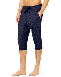 Alo Yoga Balance Capri Trousers - Blue