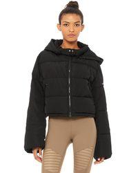 Alo Yoga Alo Yoga Introspective Quilted Jacket - Black